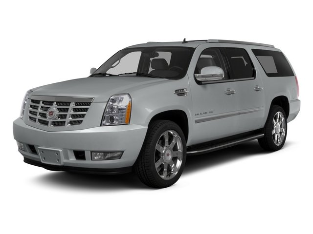 2014 Cadillac Escalade ESV Luxury CASHMERECOCOA  NUANCE LEATHER SEATING SURFACES LICENSE PLATE BR