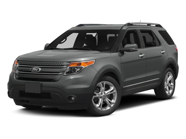 2014 Ford Explorer Limited Front Wheel Drive Power Steering ABS 4-Wheel Disc Brakes Aluminum Wh