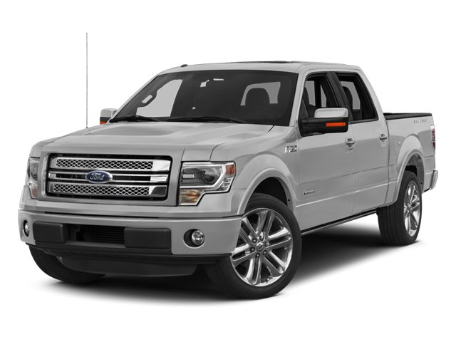 2014 Ford F-150  Four Wheel Drive Power Steering ABS 4-Wheel Disc Brakes Conventional Spare Tir