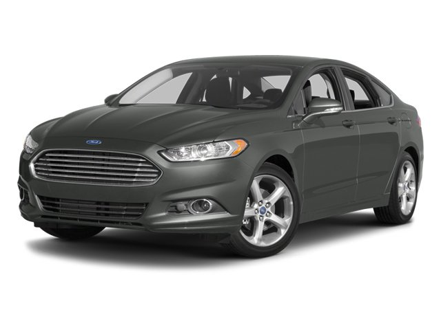 2014 Ford Fusion Titanium Turbocharged All Wheel Drive Power Steering ABS 4-Wheel Disc Brakes