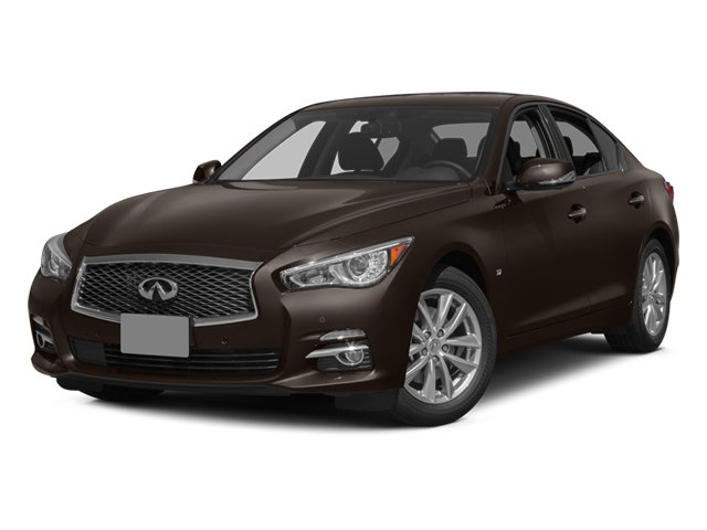 2014 Infiniti Q50 AWD DeluxeTouring Nav Roof Lthr - 16230 miles All Wheel Drive Power Steering AB