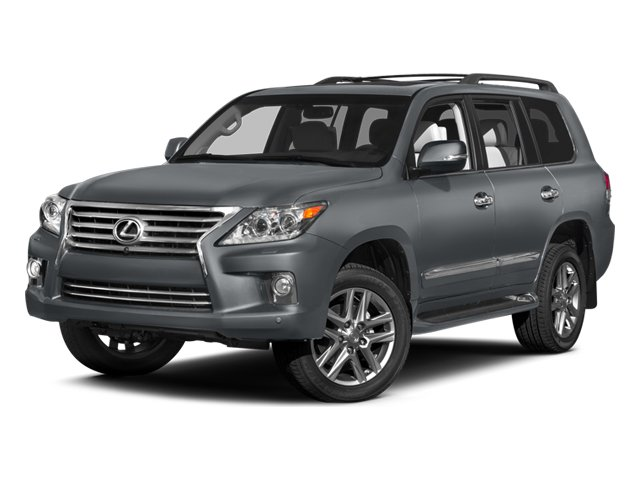 2014 Lexus LX 570 Four Wheel Drive Tow Hitch Air Suspension Active Suspension Power Steering A