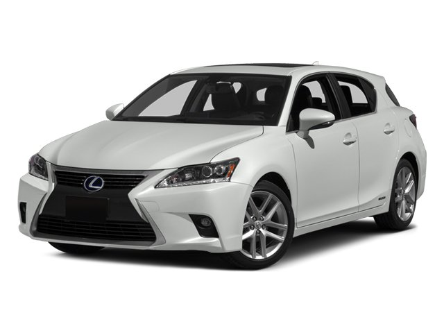 2014 Lexus CT 200h Hybrid Front Wheel Drive Power Steering ABS 4-Wheel Disc Brakes Brake Assist