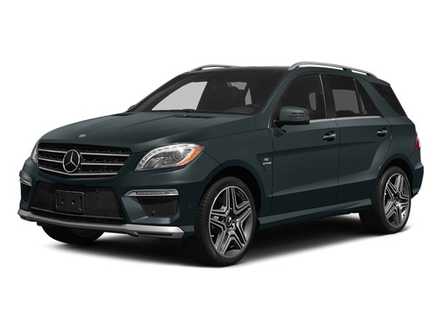 2014 Mercedes M-Class ML63 AMG Turbocharged All Wheel Drive Air Suspension Active Suspension Po