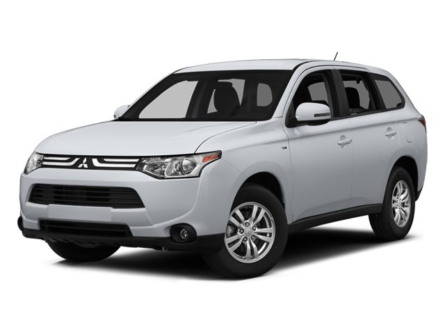 2014 Mitsubishi Outlander SE Four Wheel Drive Power Steering ABS 4-Wheel Disc Brakes Brake Assi