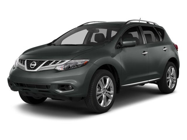 2014 Nissan Murano S BRILLIANT SILVER METALLIC BLACK  CLOTH SEAT TRIM All Wheel Drive Power Stee