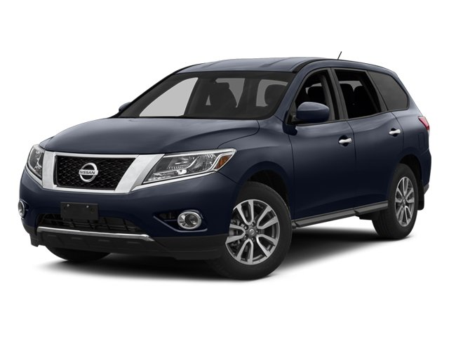 2014 Nissan Pathfinder 4WD 3rd Row SeatBucket SeatsCruise ControlRear Bench SeatPrivacy GlassA