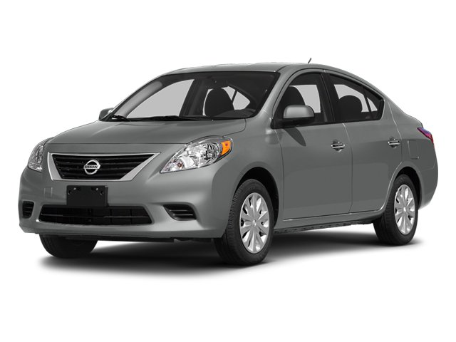 2014 Nissan Versa S Front Wheel Drive Power Steering ABS Front DiscRear Drum Brakes Brake Assi