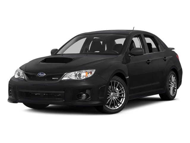 2014 Subaru Impreza Sedan WRX Sedan Turbocharged All Wheel Drive Power Steering ABS 4-Wheel Dis