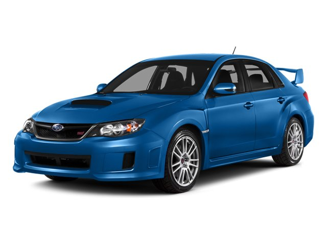 2014 Subaru Impreza Sedan WRX WRX STI Turbocharged All Wheel Drive Power Steering ABS 4-Wheel D