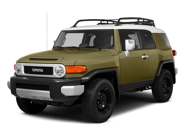 2014 Toyota FJ Cruiser Sport Utility 2D Four Wheel Drive Power Steering ABS 4-Wheel Disc Brakes