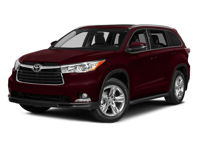 2014 Toyota Highlander XLE Black Grille wChrome SurroundBlack Wheel Well TrimBody-Colored Door H