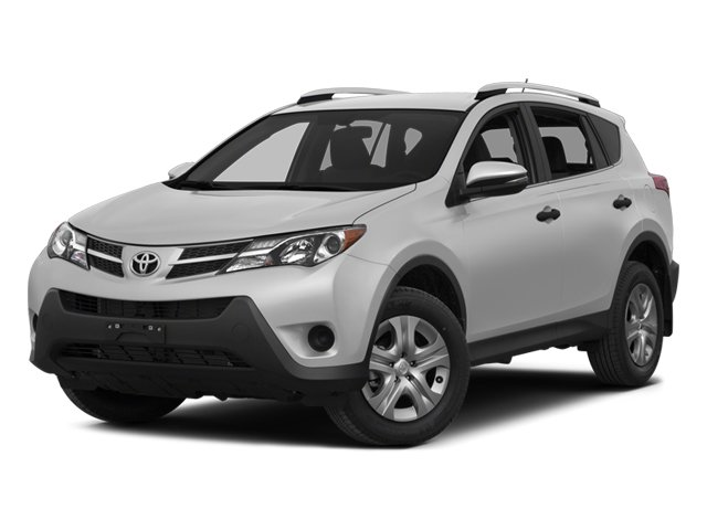 2014 Toyota RAV4 XLE All Wheel Drive Power Steering ABS 4-Wheel Disc Brakes Brake Assist Alumi