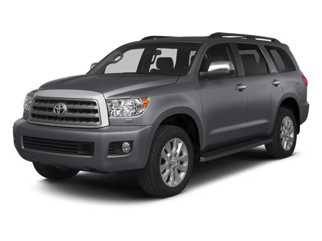 2014 Toyota Sequoia SR5 Four Wheel Drive Tow Hitch Power Steering ABS 4-Wheel Disc Brakes Brak