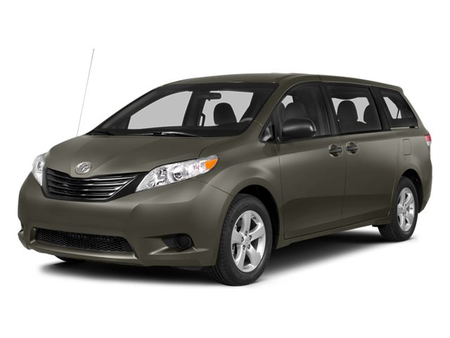 2014 Toyota Sienna  Front Wheel Drive Power Steering ABS 4-Wheel Disc Brakes Brake Assist Alum
