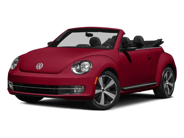 2014 Volkswagen Beetle Convertible GRAY Turbocharged Front Wheel Drive Power Steering ABS 4-Whe