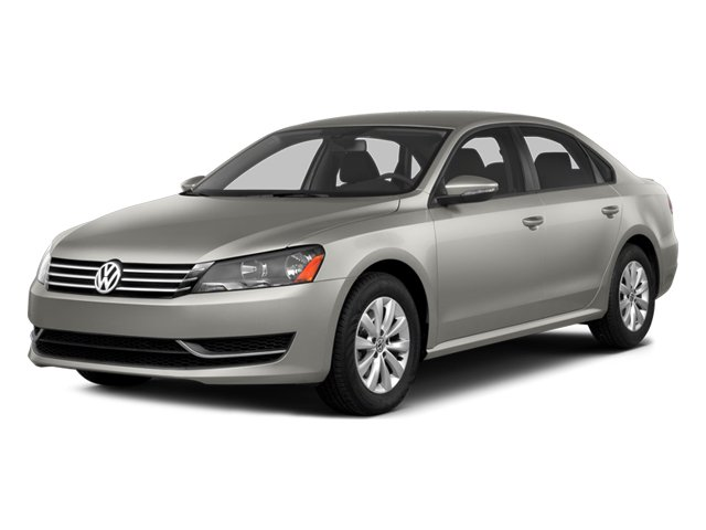 2014 Volkswagen Passat Wolfsburg Ed Turbocharged Front Wheel Drive Power Steering ABS 4-Wheel D
