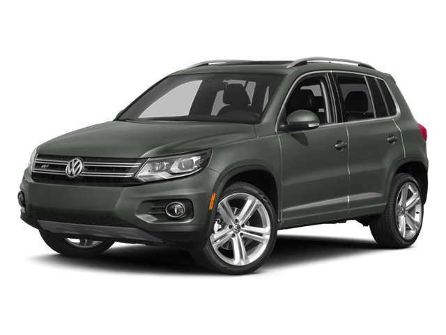 2014 Volkswagen Tiguan Sport Utility Turbocharged Front Wheel Drive Power Steering ABS 4-Wheel