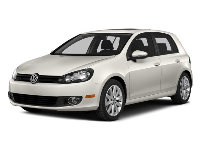 2014 Volkswagen Golf TDI Turbocharged Front Wheel Drive Power Steering ABS 4-Wheel Disc Brakes