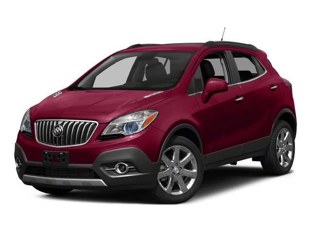 2015 Buick Encore FWD Turbocharged Front Wheel Drive Power Steering Aluminum Wheels Tires - Fro