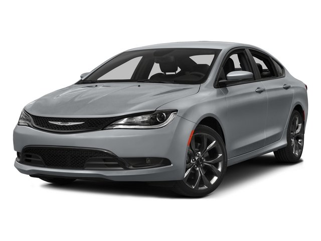 2015 Chrysler 200 UFCL41 S Automatic Velvet Red Pearlcoat Black Front Wheel Drive Power Steeri
