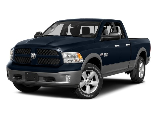 2015 Ram 1500 SLT Rear Wheel Drive Power Steering ABS 4-Wheel Disc Brakes Brake Assist Aluminu