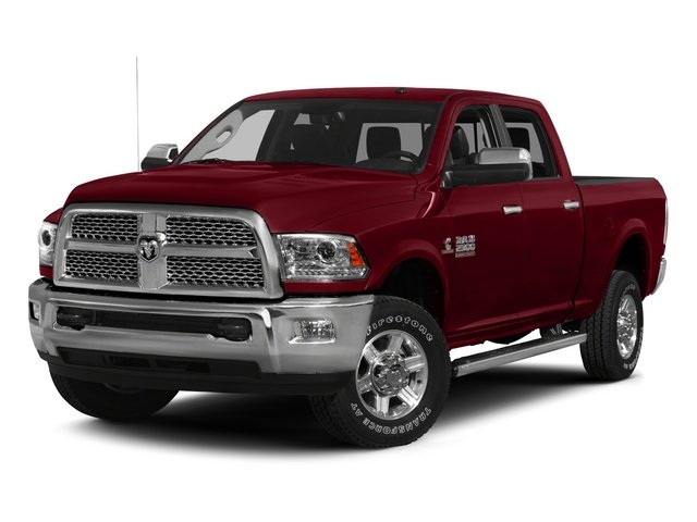 2015 Ram 2500 Laramie Four Wheel Drive Tow Hitch Power Steering ABS 4-Wheel Disc Brakes Brake