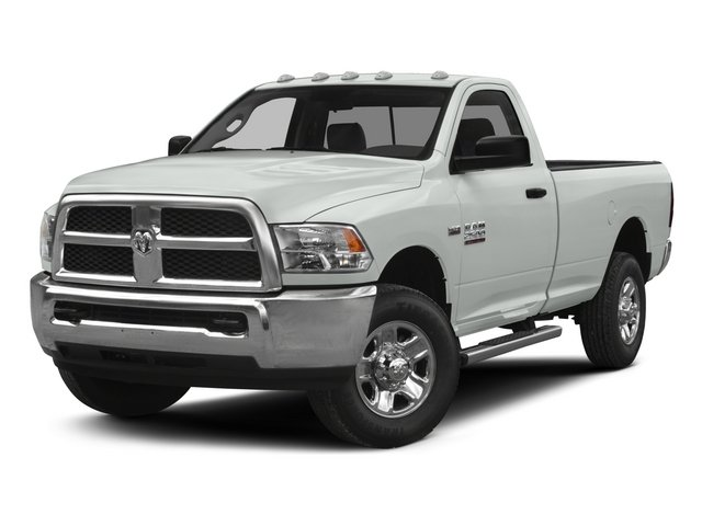 2015 Ram 2500 Tradesman BRIGHT WHITE CLEARCOAT DIESEL GRAYBLACK  CLOTH 402040 BENCH SEAT  -inc