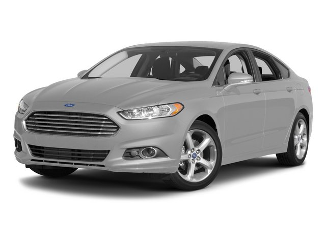 2015 Ford Fusion P0H SE Automatic Ingot Silver Charcoal Black Front Wheel Drive Power Steering