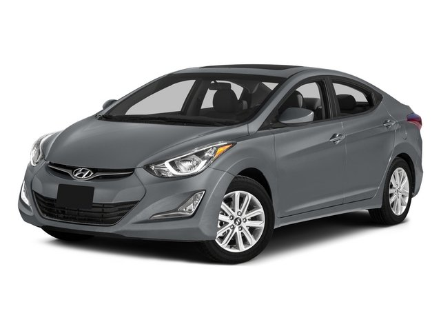 2015 Hyundai Elantra SE MUD GUARDS TITANIUM GRAY METALLIC CARPETED FLOOR MATS OPTION GROUP 02  -