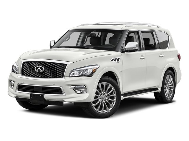 2015 INFINITI QX80 Base Rear Wheel Drive Tow Hitch Power Steering Air Suspension ABS 4-Wheel D