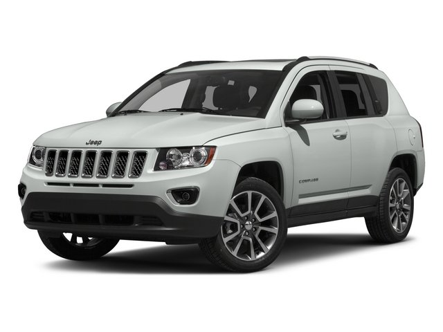 2015 Jeep Compass MKTP49 Limited Automatic Bright White Clearcoat Dark Slate Gray Front Wheel D