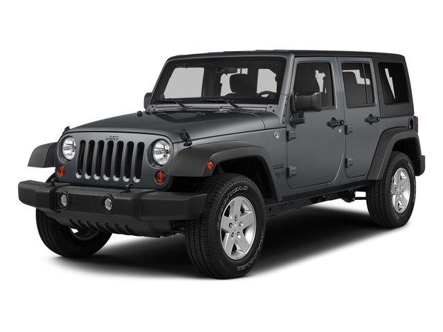 2015 Jeep Wrangler Unlimited SAHA Four Wheel Drive Power Steering ABS 4-Wheel Disc Brakes Brake