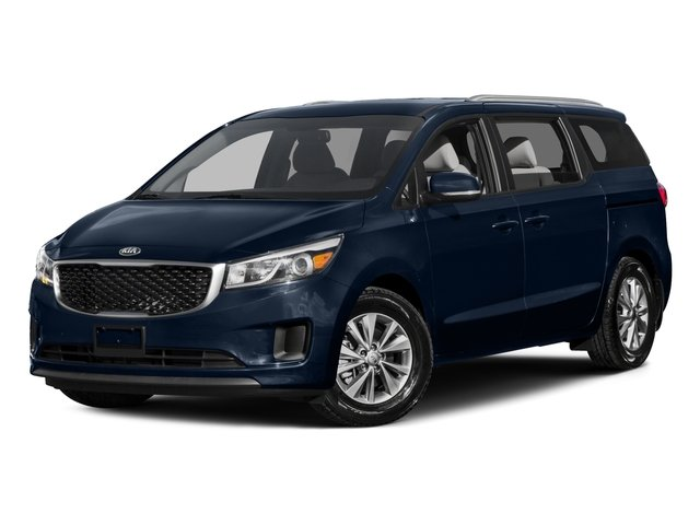 2015 Kia Sedona LX Tires P23565R17  Lip Spoiler  Black Side Windows Trim and Black Front Windsh