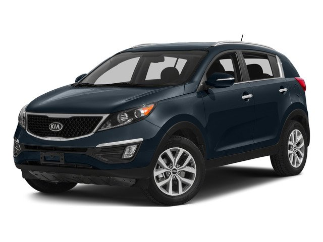 2015 Kia Sportage LX All Wheel Drive Power Steering ABS 4-Wheel Disc Brakes Brake Assist Alumi