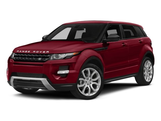 2015 Land Rover Range Rover Evoque Pure Premium 8 Wheels wSilver AccentsBlack Side Windows Trim