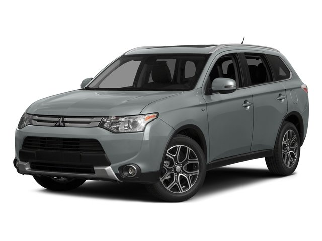 2015 Mitsubishi Outlander SE Four Wheel Drive Power Steering ABS 4-Wheel Disc Brakes Brake Assi