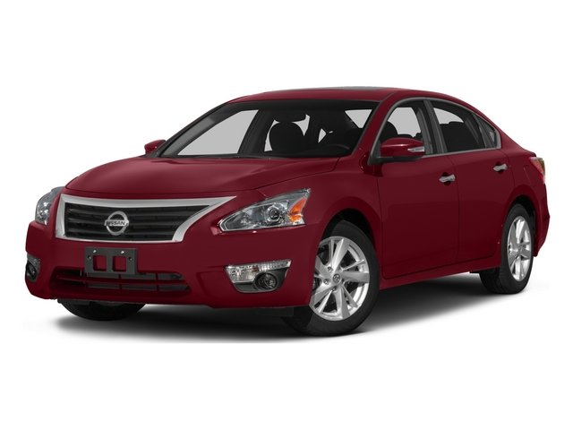 2015 Nissan Altima 25 SL CHARCOAL  LEATHER-APPOINTED SEAT TRIM R10 REAR SPOILER CAYENNE RED