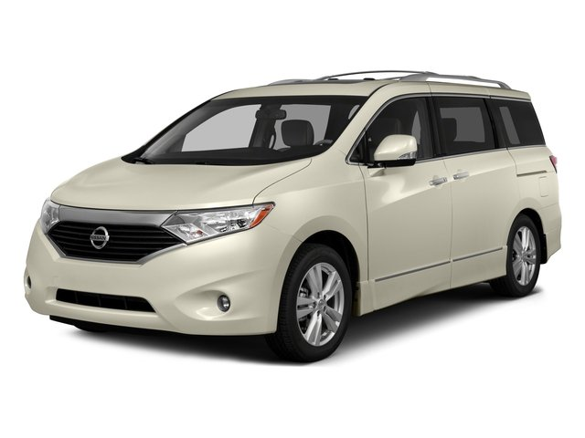2015 Nissan Quest Platinum WHITE PEARL GRAY  LEATHER APPOINTED SEAT TRIM Front Wheel Drive Power