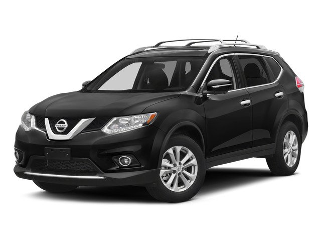 2015 Nissan Rogue S CVT with Xtronic Gun Metallic Charcoal Front Wheel Drive Power Steering A
