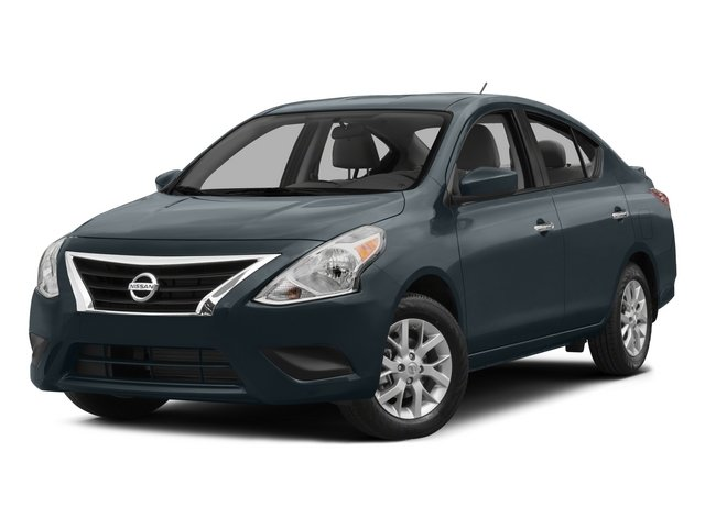 2015 Nissan Versa SV Front Wheel Drive Power Steering ABS Front DiscRear Drum Brakes Brake Ass