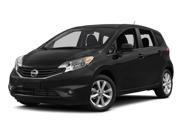 2015 Nissan Versa Note SR CHARCOAL  SUEDE-LIKE SEAT TRIM WSPORTY ORANGE ACCENTS METALLIC PEACOCK