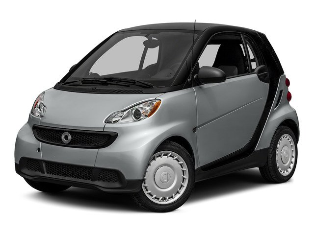 2015 smart fortwo Passion Rear Wheel Drive ABS Front DiscRear Drum Brakes Brake Assist Aluminu