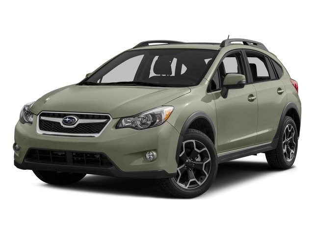 2015 Subaru XV Crosstrek Premium CRYSTAL BLACK SILICA IVORY  CLOTH UPHOLSTERY MOONROOF PACKAGE  -