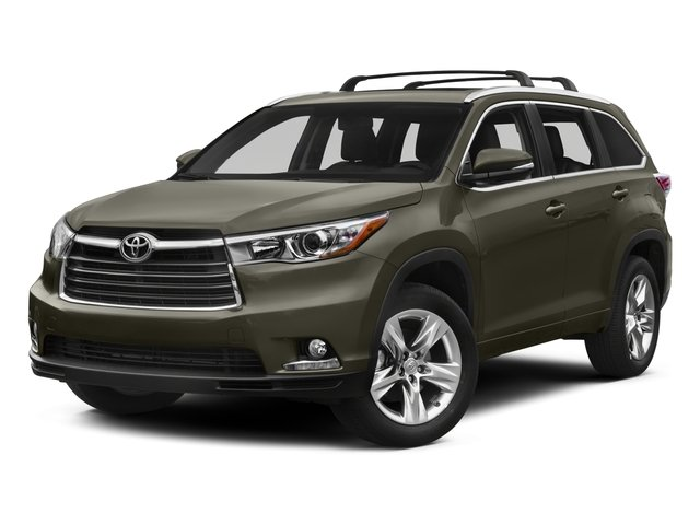 2015 Toyota Highlander XLE Front Wheel Drive Power Steering ABS 4-Wheel Disc Brakes Brake Assis