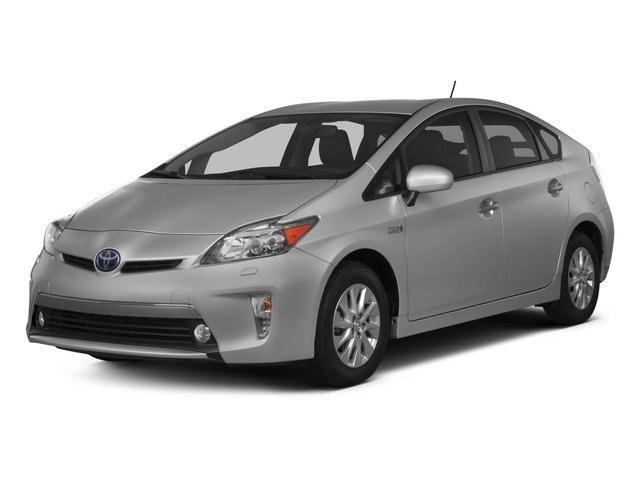 2015 Toyota Prius Plug-In 1237 Advanced Variable Clearwater Blue Metallic Dark Gray Front Wheel