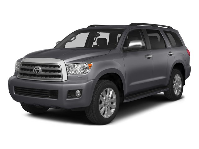 2015 Toyota Sequoia Limited Rear Wheel Drive Tow Hitch Power Steering ABS 4-Wheel Disc Brakes