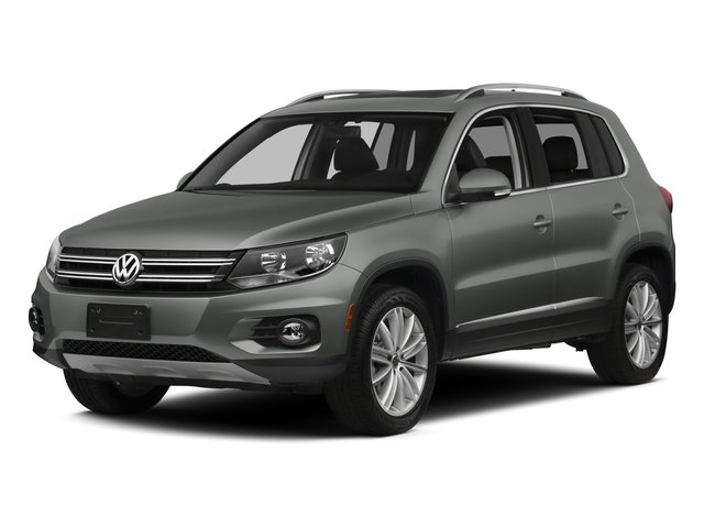 2015 Volkswagen Tiguan SE wAppear 4MOTION Turbocharged All Wheel Drive Power Steering ABS 4-Wh