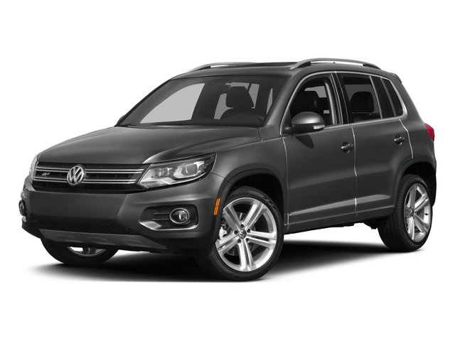 2015 Volkswagen Tiguan R-Line Turbocharged Front Wheel Drive Power Steering ABS 4-Wheel Disc Br
