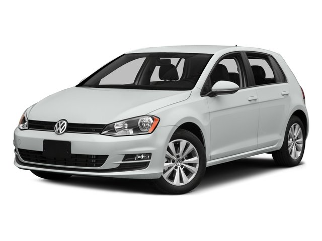 2015 Volkswagen Golf TDI S 4 Door Turbocharged Front Wheel Drive Power Steering ABS 4-Wheel Dis